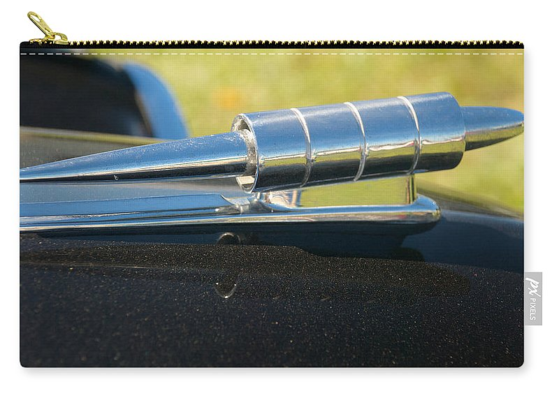 1949 Studebaker Carry-all Pouch featuring the photograph 1949 Studebaker by Mark Dodd