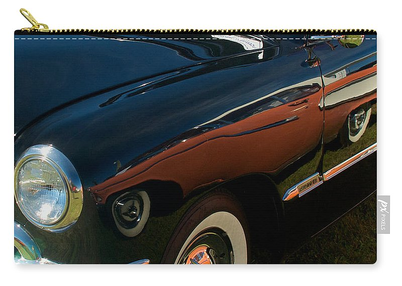 1950 Ford Carry-all Pouch featuring the photograph 1950 Ford by Mark Dodd