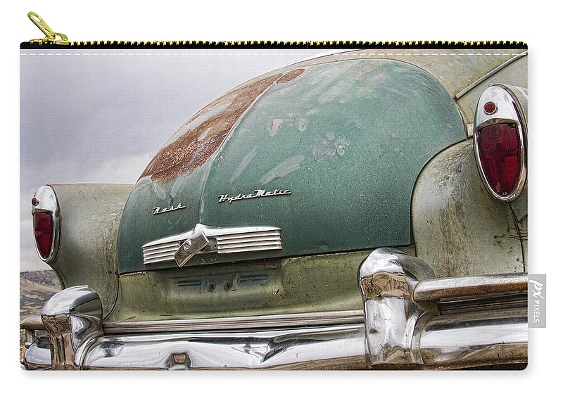 Nash Carry-all Pouch featuring the photograph 1950 Nash Hydra-matic by James BO Insogna