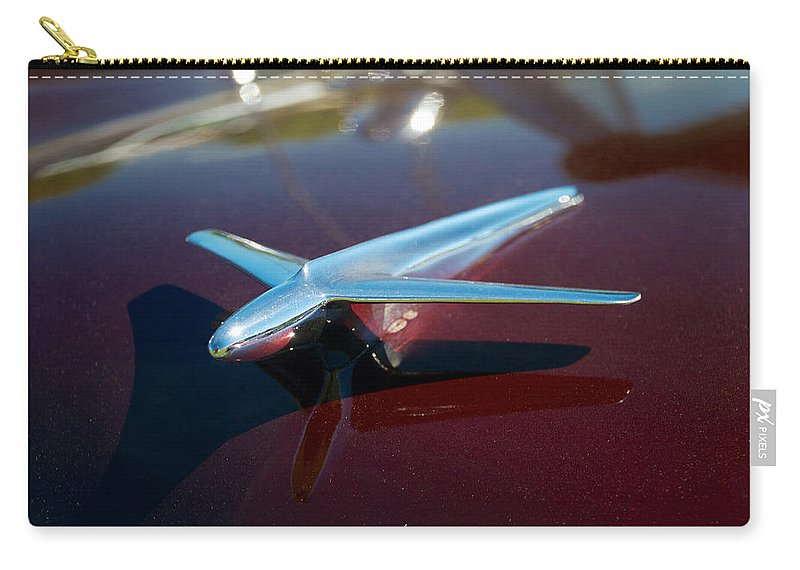 1952 Ford Customline Carry-all Pouch featuring the photograph 1952 Ford Customline by Mark Dodd