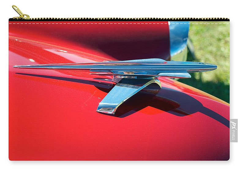 1954 Studebaker Carry-all Pouch featuring the photograph 1954 Studebaker by Mark Dodd