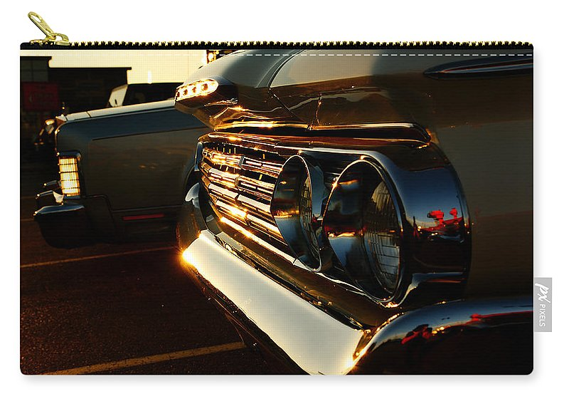 Classic Car Carry-all Pouch featuring the photograph 1960's Mercury by Cale Best