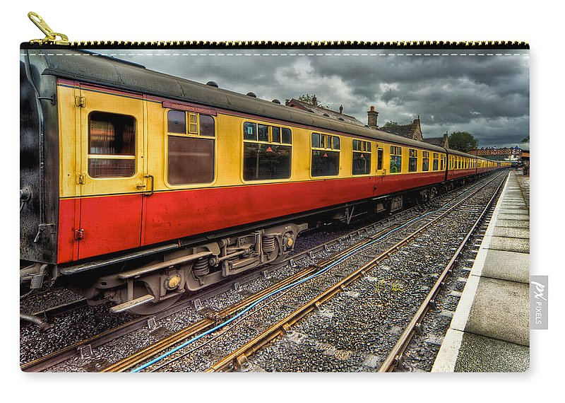 Railway Carry-all Pouch featuring the photograph 1963 Carriage by Adrian Evans
