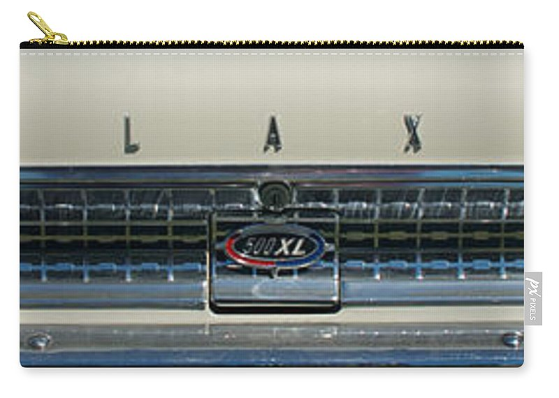 1963 Ford Galaxie Carry-all Pouch featuring the photograph 1963 Ford Galaxie 2 by Mark Dodd