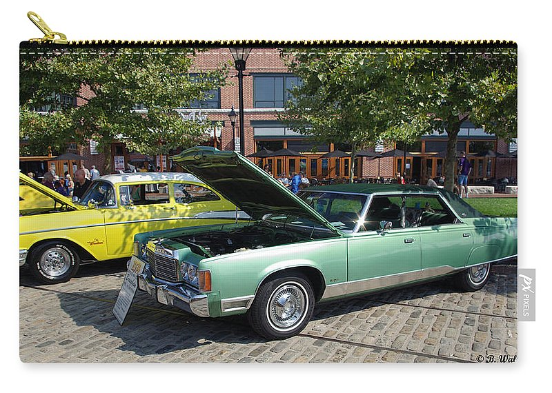 2d Carry-all Pouch featuring the photograph 1974 Chrysler Classic by Brian Wallace