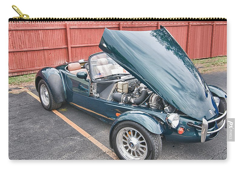 1994 Panoz Carry-all Pouch featuring the photograph 1994 Panoz Roadster by Guy Whiteley