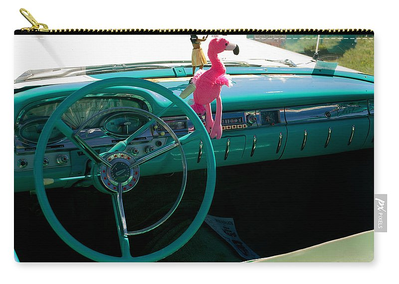 1959 Edsel Ford Carry-all Pouch featuring the photograph 1959 Edsel Ford by Mark Dodd
