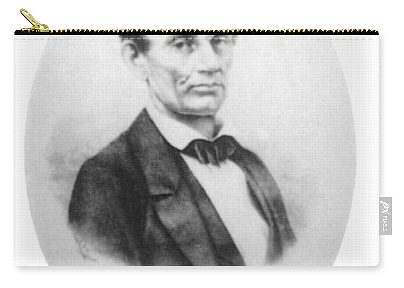 History Carry-all Pouch featuring the photograph Abraham Lincoln, 16th American President by Science Source