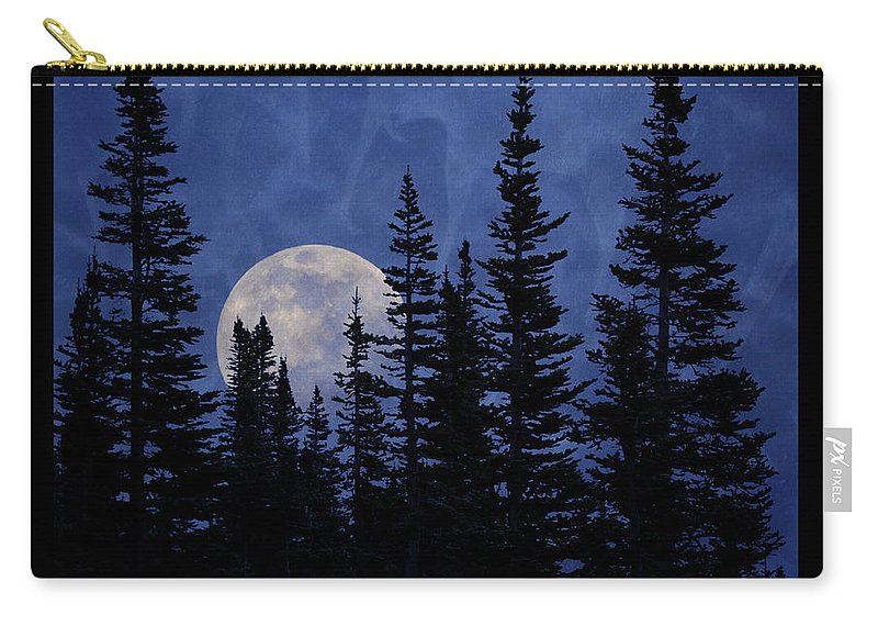 Glacier National Park Carry-all Pouch featuring the photograph All We Are Is Dust In The Wind by John Stephens
