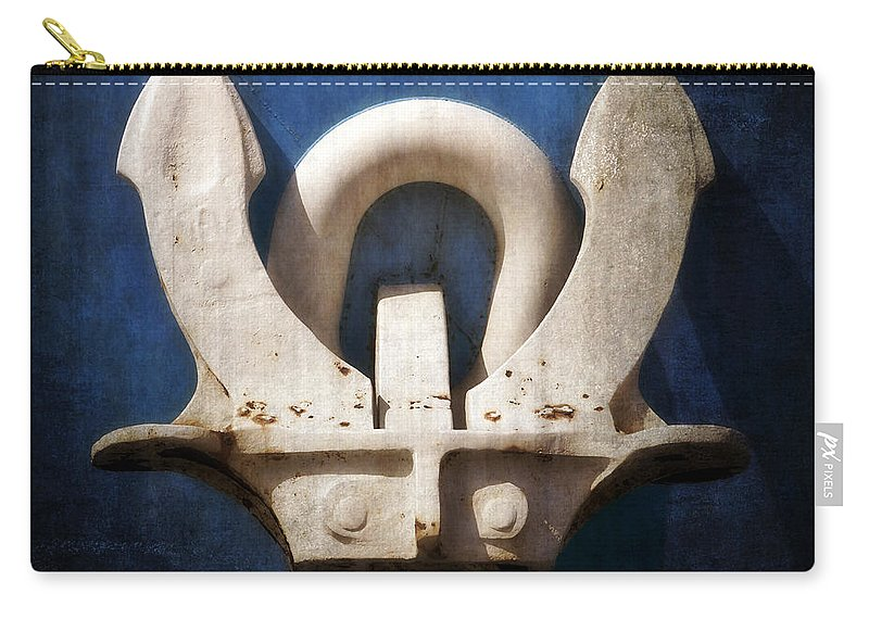 Anchor Carry-all Pouch featuring the photograph Anchor by Joana Kruse