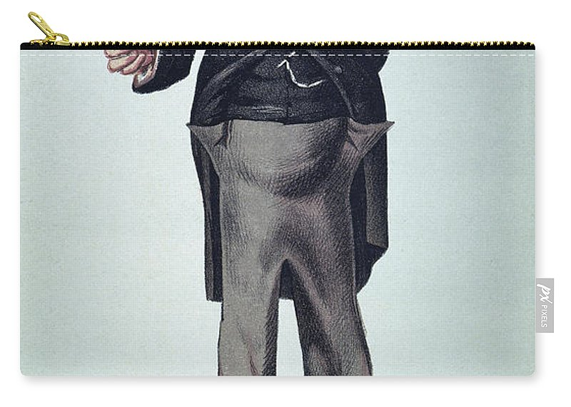1873 Carry-all Pouch featuring the photograph Anthony Trollope by Granger