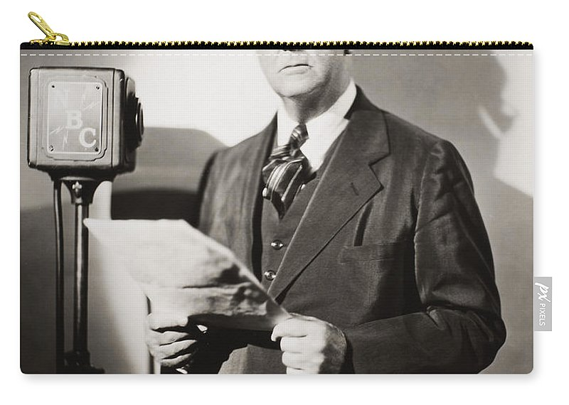 20th Century Carry-all Pouch featuring the photograph Arthur Brisbane (1864-1936) by Granger