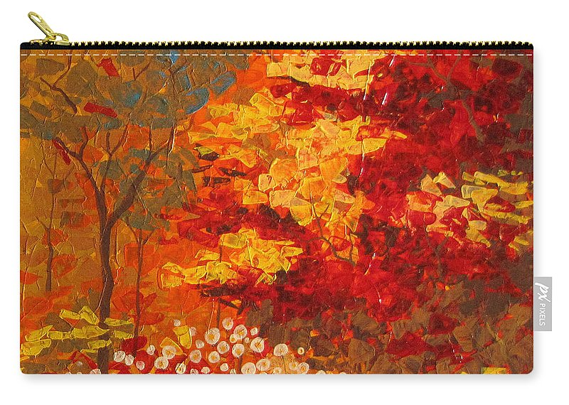 Carry-all Pouch featuring the painting Autumn by Stefan Georgiev