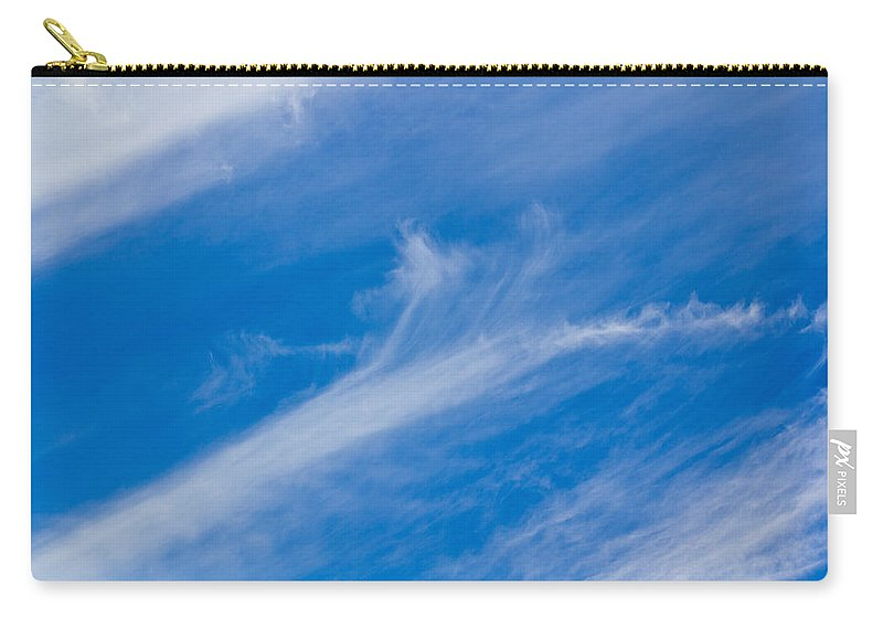 Skies Carry-all Pouch featuring the photograph English Summer Sky by David Pyatt