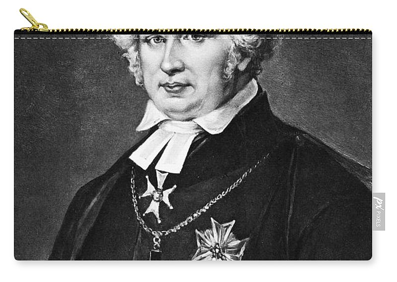 18th Century Carry-all Pouch featuring the photograph Esaias Tegner (1782-1846) by Granger
