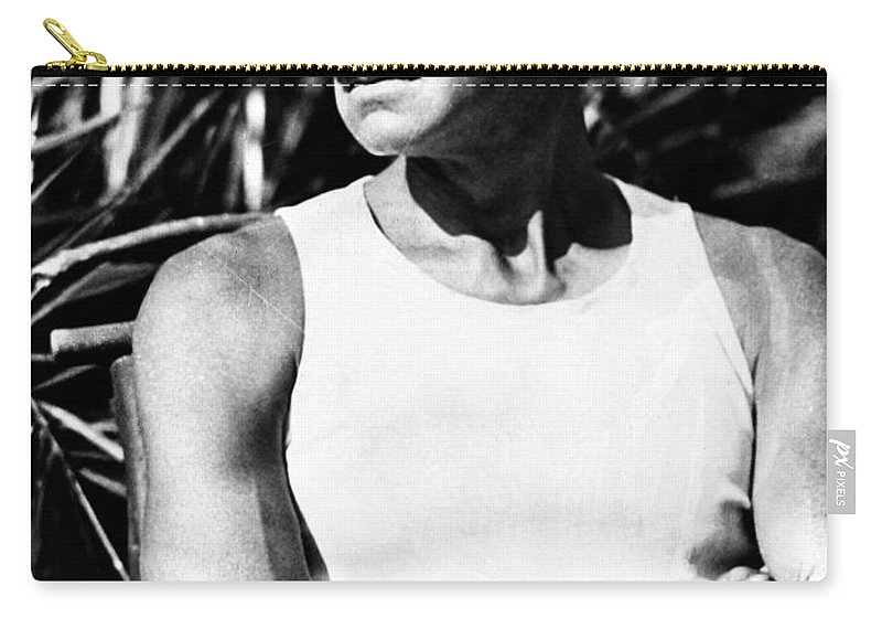 1930 Carry-all Pouch featuring the photograph Eugene Gladstone Oneill by Granger