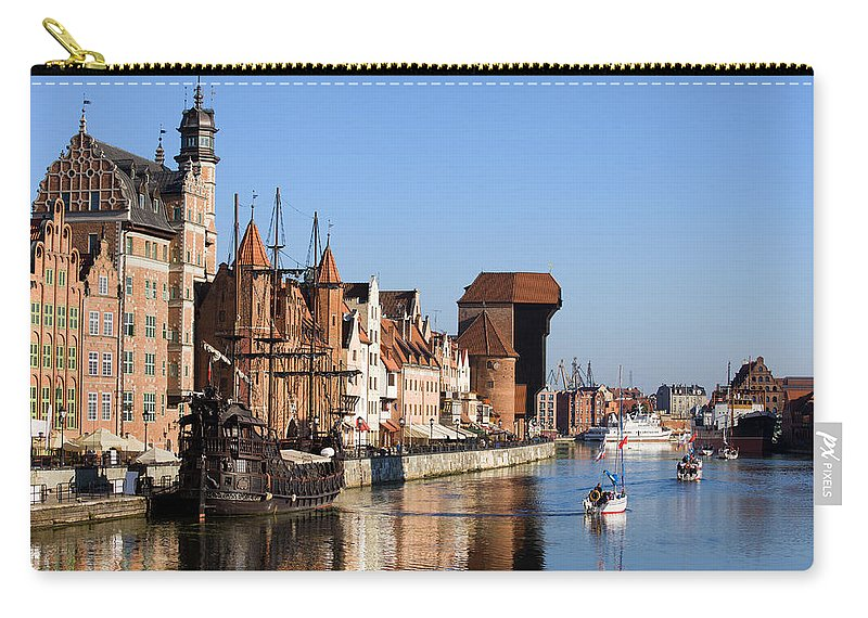 Gdansk Carry-all Pouch featuring the photograph Gdansk In Poland by Artur Bogacki