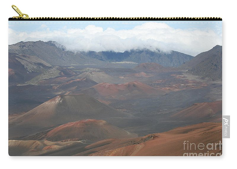 Haleakala Carry-all Pouch featuring the photograph Haleakala Volcano Maui Hawaii by Sharon Mau