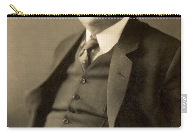 19th Century Carry-all Pouch featuring the photograph Herbert George Wells by Granger