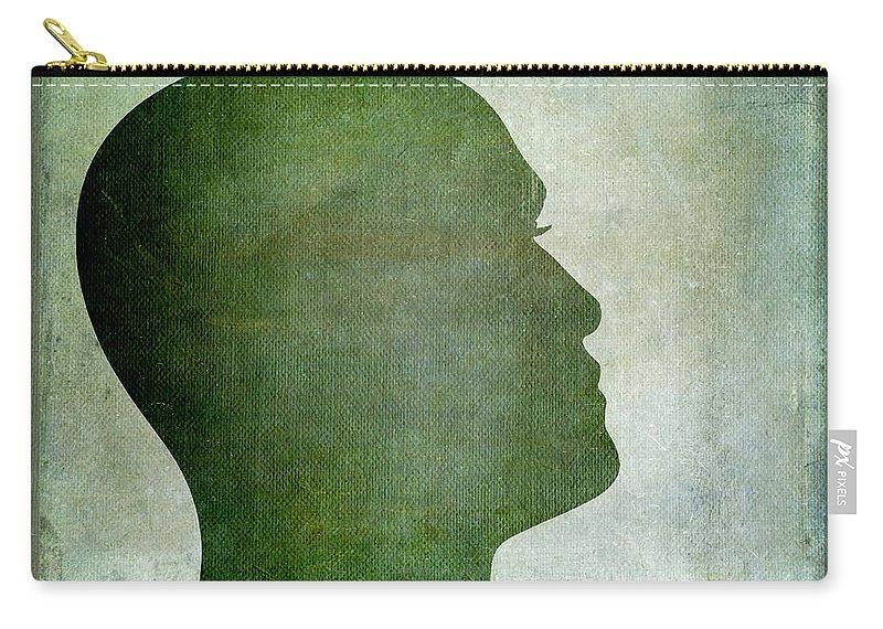 Texture Carry-all Pouch featuring the photograph Human Representation by Bernard Jaubert