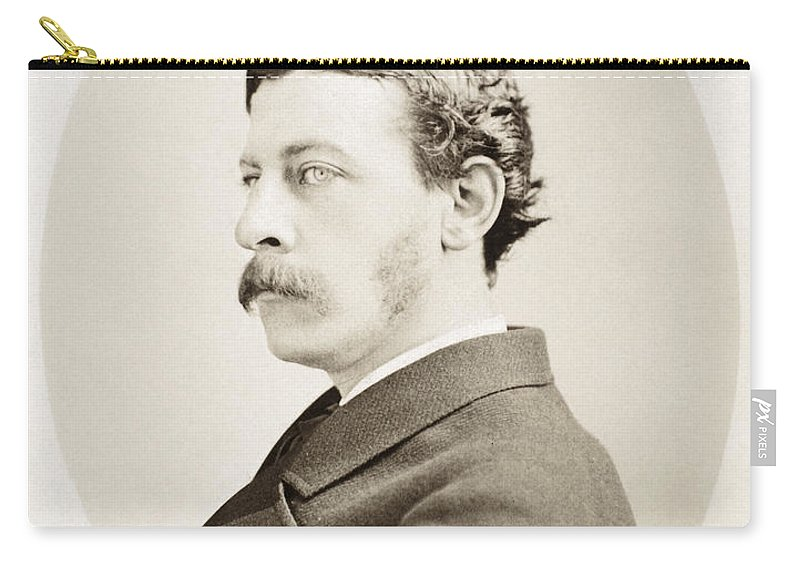 18th Century Carry-all Pouch featuring the photograph James Gordon Bennett, Jr by Granger