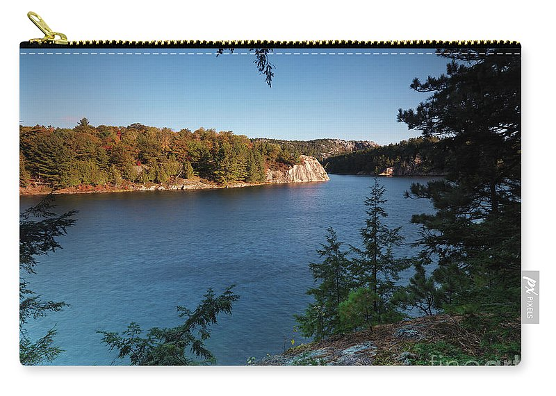 Lake Carry-all Pouch featuring the photograph Killarney Provincial Park by Oleksiy Maksymenko