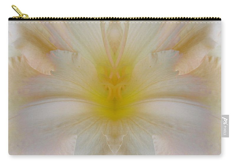 Color Blend Carry-all Pouch featuring the digital art Lily Cloud by Michele Caporaso