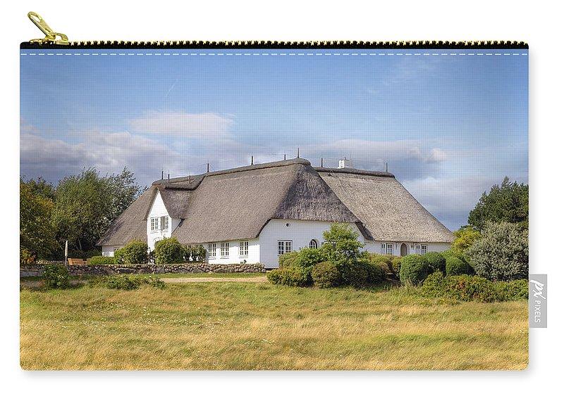Frisian House Carry-all Pouch featuring the photograph Munkmarsch - Sylt by Joana Kruse