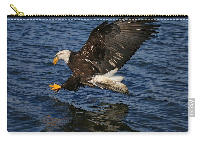 Doug Lloyd Carry-all Pouch featuring the photograph On Target by Doug Lloyd