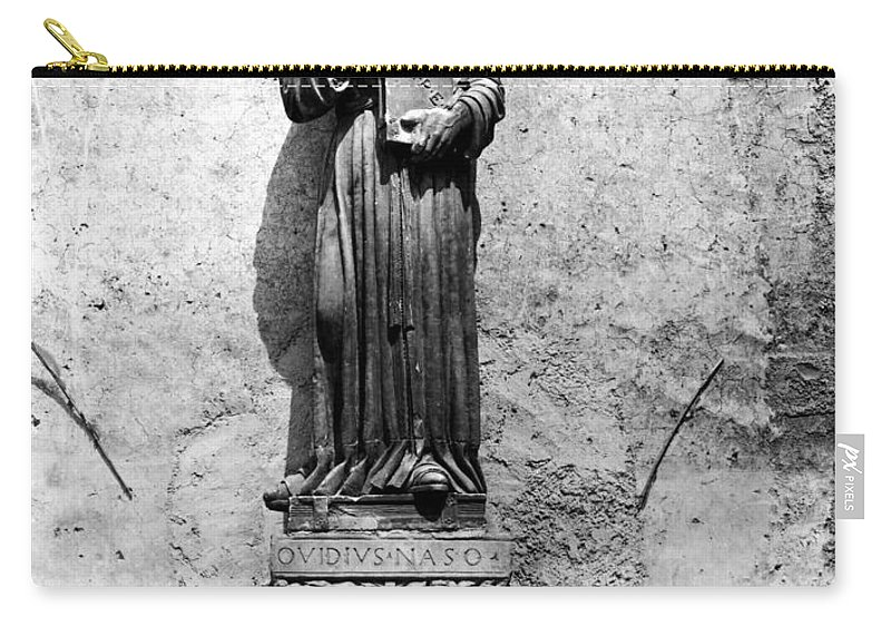 1st Century Carry-all Pouch featuring the photograph Ovid (43 B.c.-c17 A.d.) by Granger