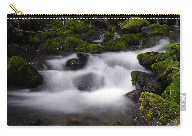Doug Lloyd Carry-all Pouch featuring the photograph Rushing by Doug Lloyd