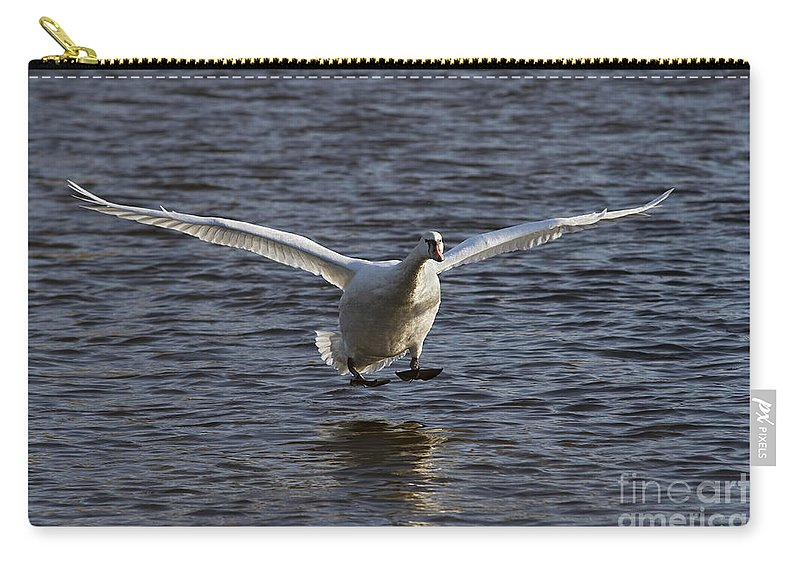 Nature Carry-all Pouch featuring the photograph Splashdown by Michal Boubin