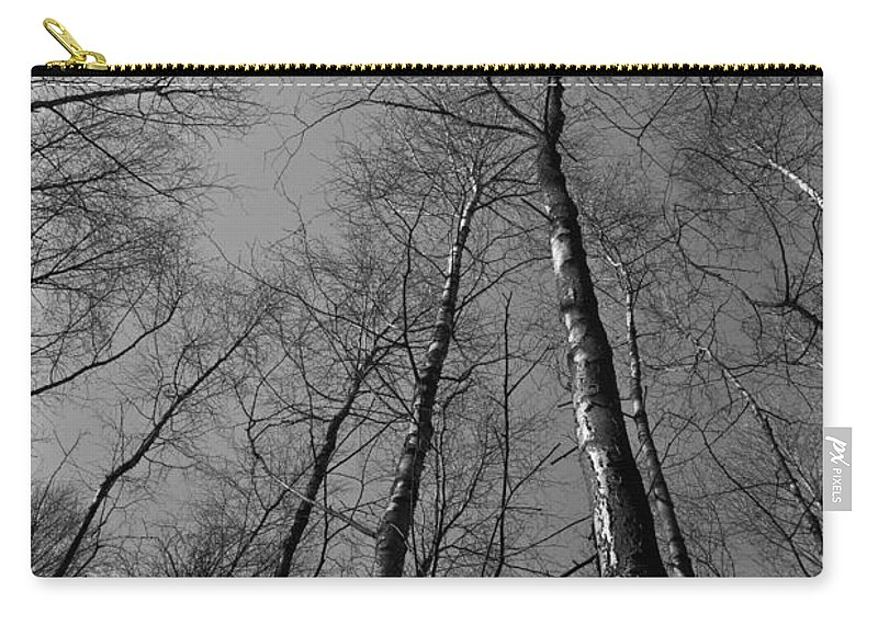 Tree Carry-all Pouch featuring the photograph Trees In Epping Forest by David Pyatt