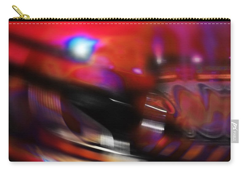 Waltzer Carry-all Pouch featuring the digital art Waltzer by Charles Stuart