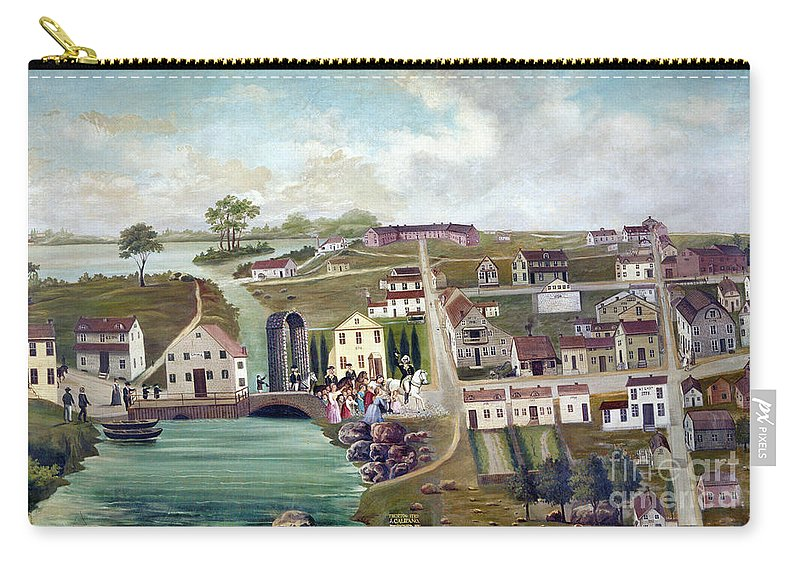 1789 Carry-all Pouch featuring the photograph Washington: Trenton, 1789 by Granger