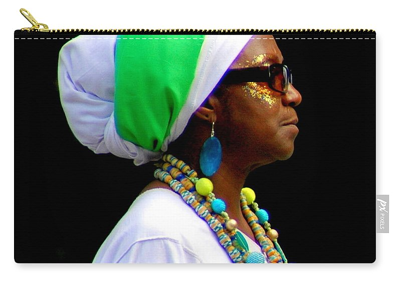 Parades Carry-all Pouch featuring the photograph West Indian Day Parade Brooklyn Ny by Mark Gilman