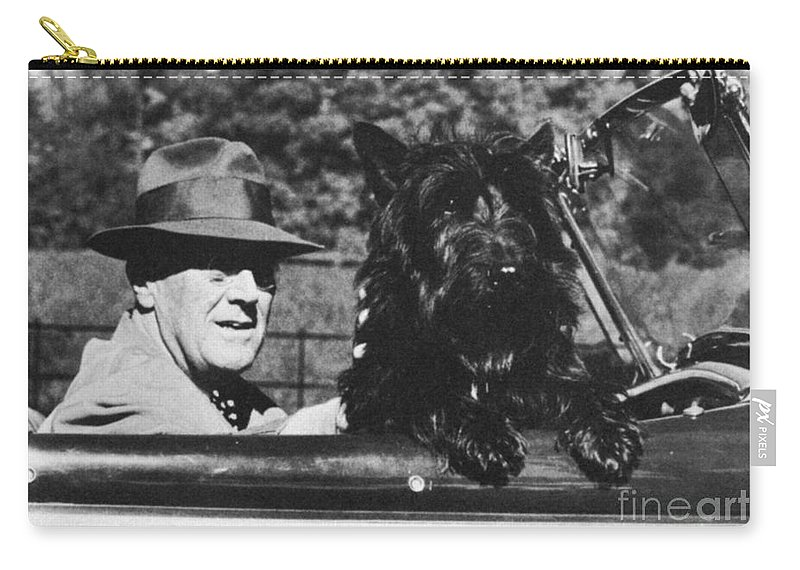 1944 Carry-all Pouch featuring the photograph Franklin D. Roosevelt by Granger