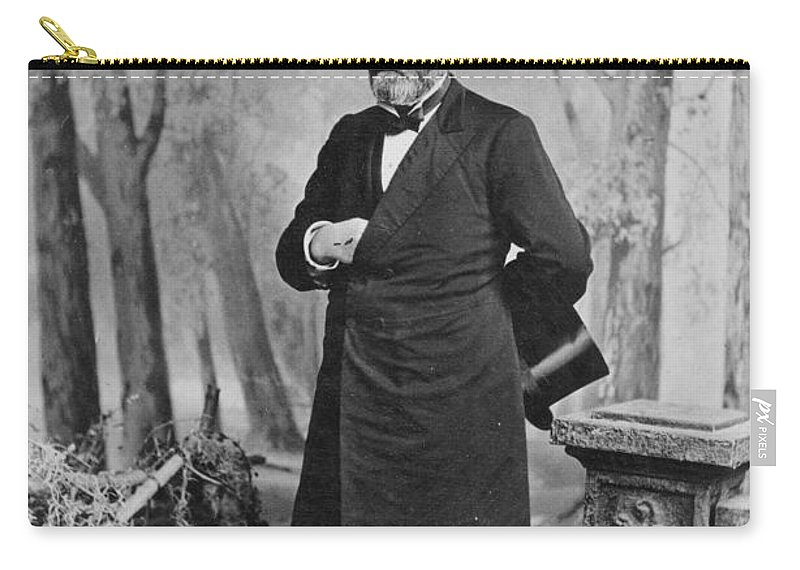 1880 Carry-all Pouch featuring the photograph Ulysses S. Grant (1822-1885) by Granger