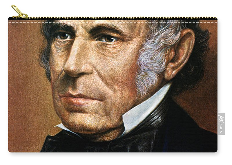 19th Century Carry-all Pouch featuring the photograph Zachary Taylor (1784-1850) by Granger