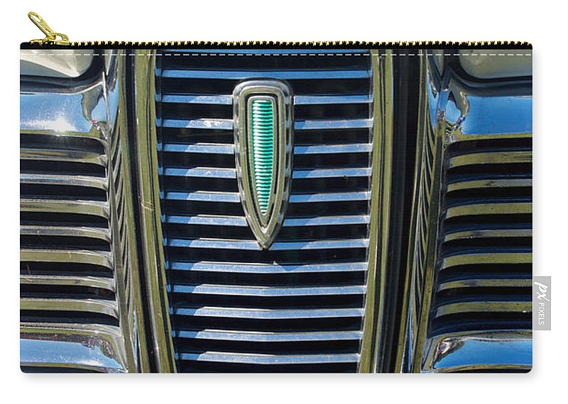 1959 Carry-all Pouch featuring the photograph 1959 Edsel Ford by Mark Dodd