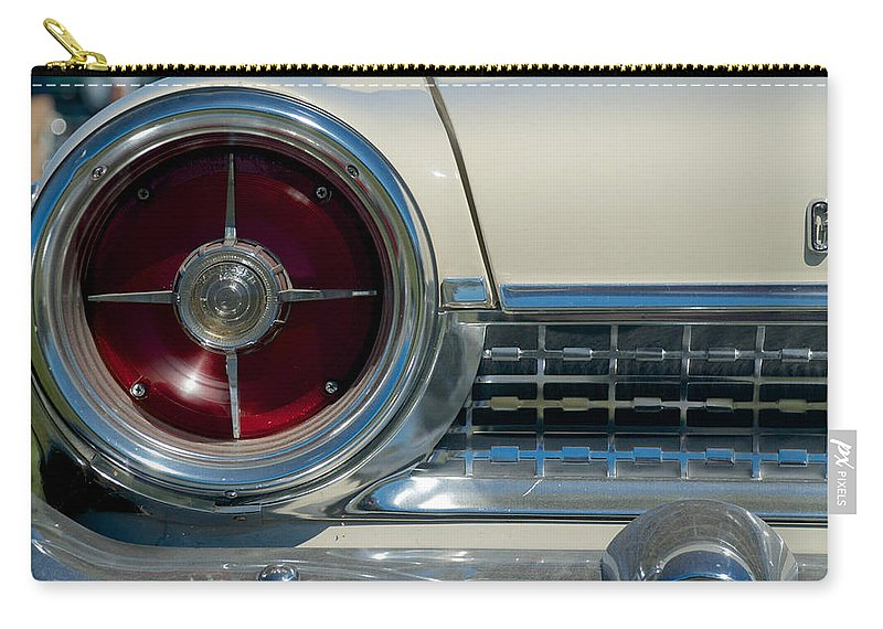 1963 Ford Galaxie Carry-all Pouch featuring the photograph 1963 Ford Galaxie by Mark Dodd