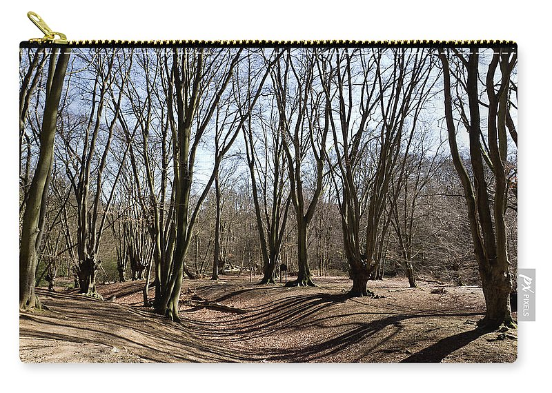 Ambresbury Carry-all Pouch featuring the photograph Ambresbury Banks Bronze Age Fortification by David Pyatt