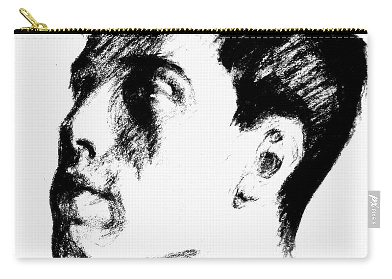 1910 Carry-all Pouch featuring the photograph Boris Leonidovich Pasternak by Granger