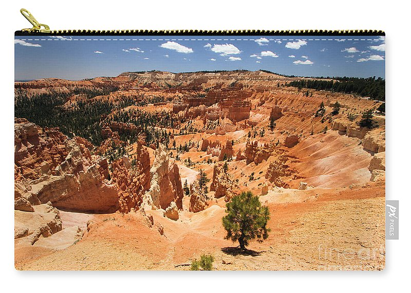 Bryce Canyon National Park Carry-all Pouch featuring the photograph Bryce Canyon Amphitheater by Adam Jewell