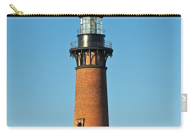 Corolla Carry-all Pouch featuring the photograph Currituck Beach Lighthouse by John Greim