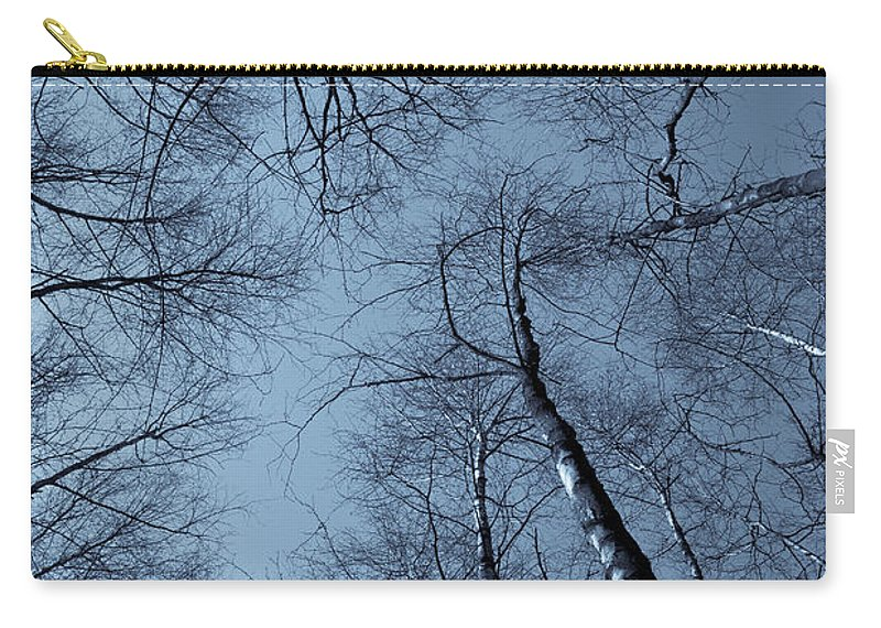 Epping Carry-all Pouch featuring the photograph Epping Forest Trees by David Pyatt