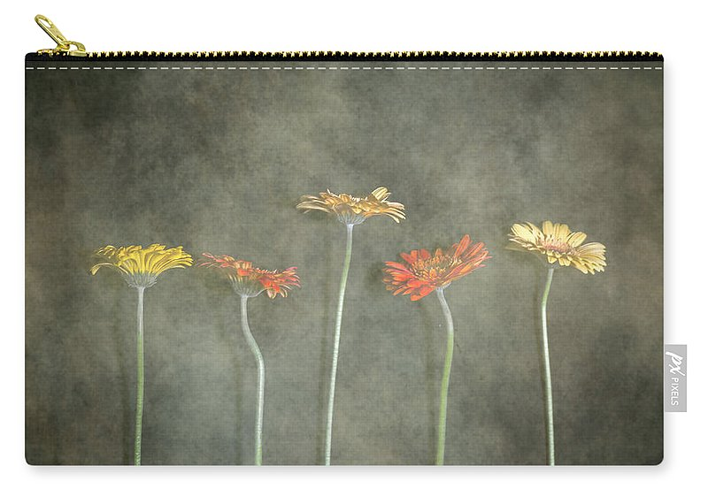 Gerbera Carry-all Pouch featuring the photograph Gerbera by Joana Kruse