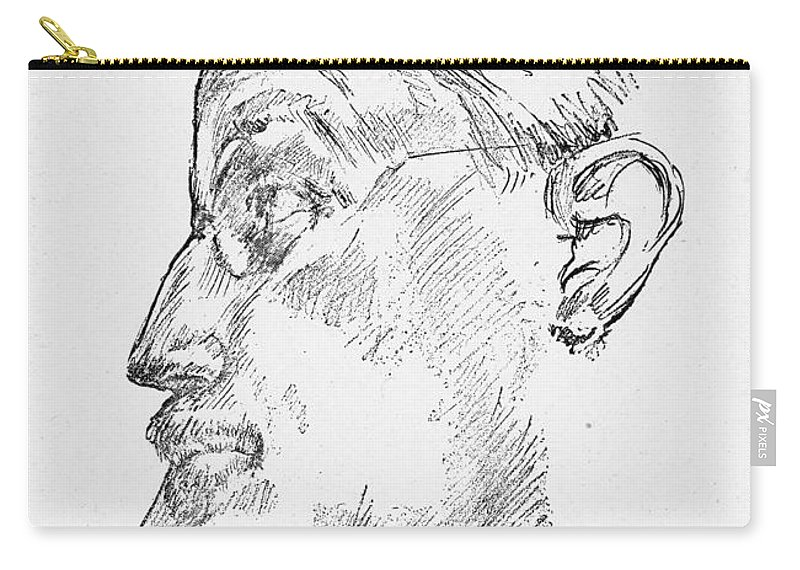 1922 Carry-all Pouch featuring the photograph James Joyce (1882-1941) by Granger