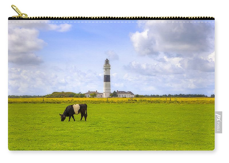 Lighthouse Carry-all Pouch featuring the photograph Kampen - Sylt by Joana Kruse