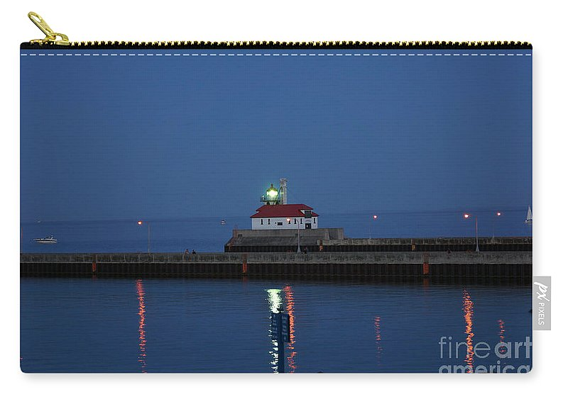 Lighthouses Carry-all Pouch featuring the photograph Lights by Lori Tordsen